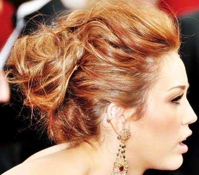 penteado feminino