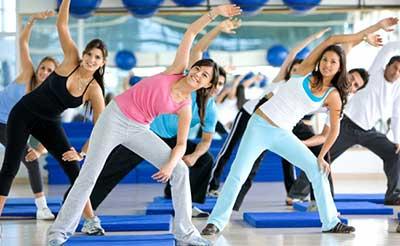 tipos de exercícios