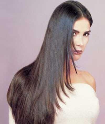 selagem no cabelo