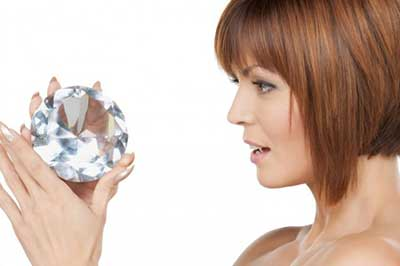 peeling de diamante