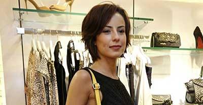foto da atriz global