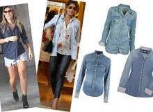 fotos de camisas jeans