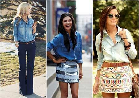 dicas de camisas jeans