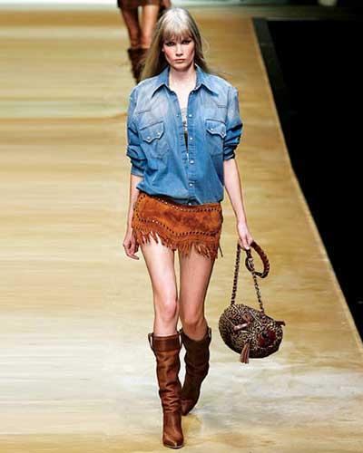 tendência da moda feminina