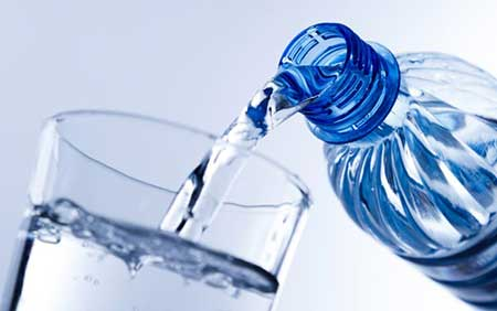 hidrate-se com líquido
