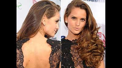 imagens de penteados para cabelos ondulados
