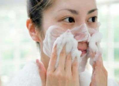 lave o rosto todo dia