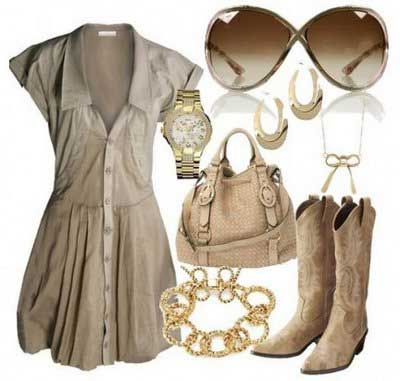 roupas country