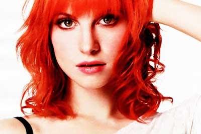 imagem de cabelo laranja