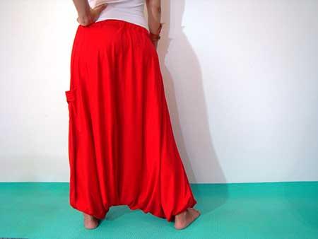 modelo vermelha