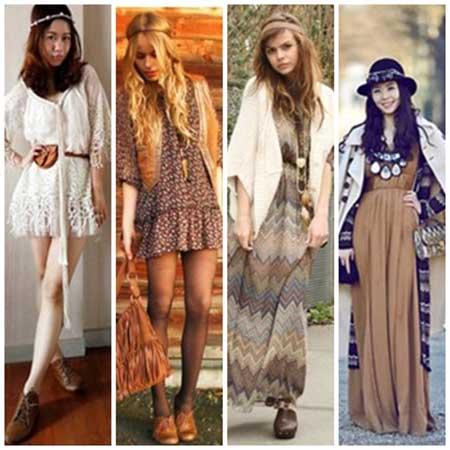 tendências da moda hippie