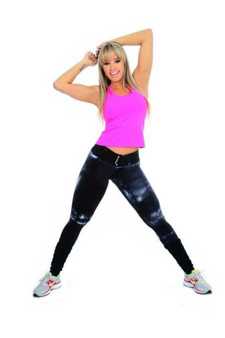 peças da moda fitness
