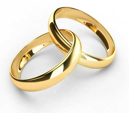 imagens de alianças de casamento