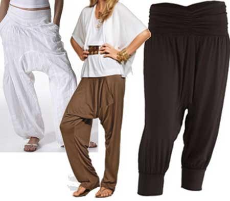 calça saruel da moda feminina