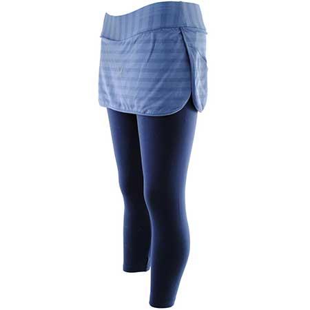 combinação de legging com saia