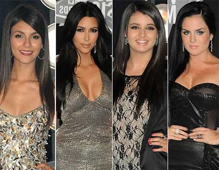 imagens de celebridades que usam
