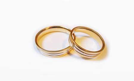 sugestões de alianças de casamento