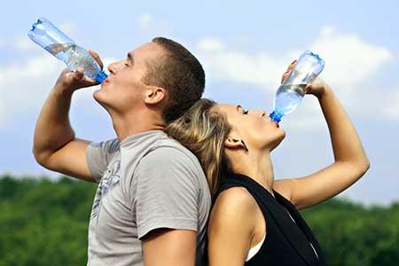 hidratação do organismo