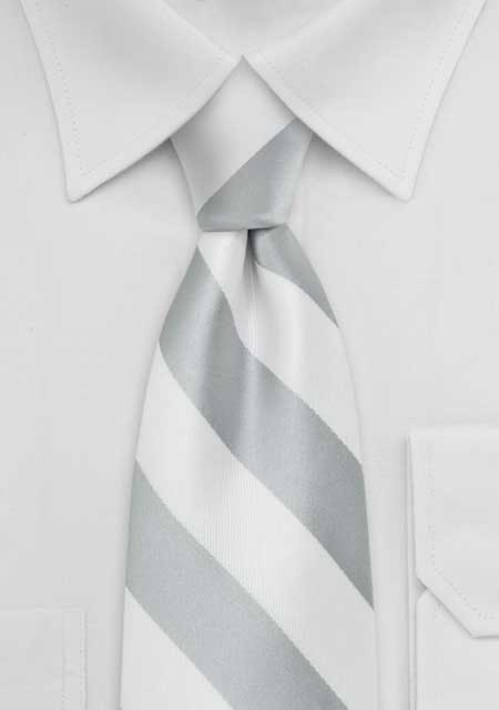 dica de gravata branca