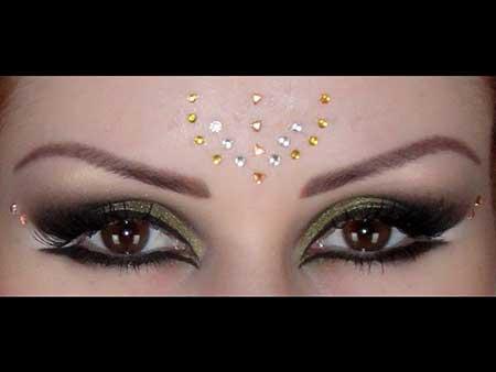 passo a passo de maquiagem árabe