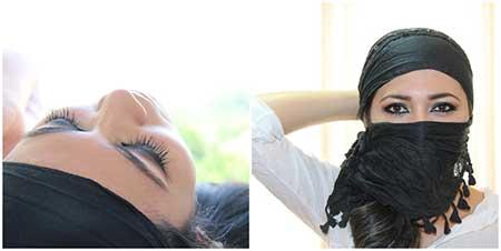 imagens de maquiagem árabe