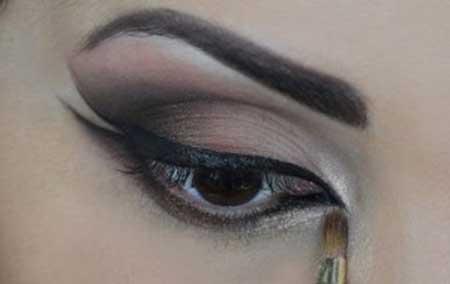 como fazer maquiagem árabe