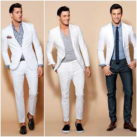 como usar terno branco