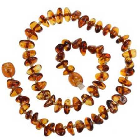 imagem de colar de âmbar