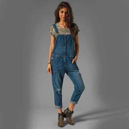 macacões longos da moda feminina