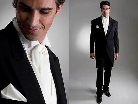 gravata branca