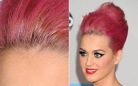 modelo de cabelo rosa