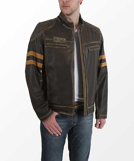 Alguns pontos devem ser levados em consideração na hora da escolha do  casaco de couro masculino mais adequado ao seu estilo visual 9644a9b718ef6