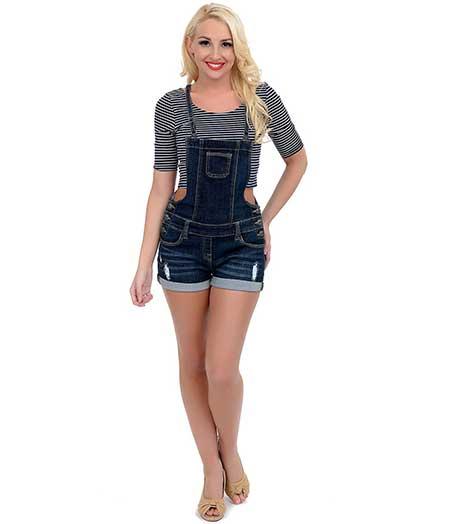 macacão de jeans