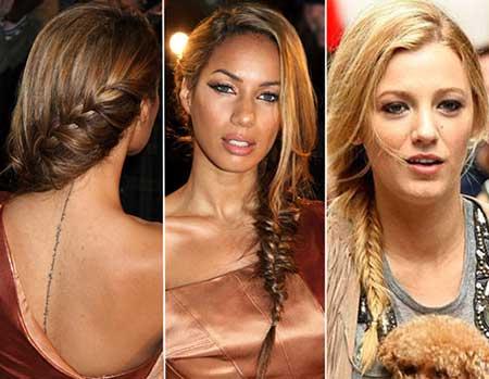 imagens de penteados fáceis de fazer
