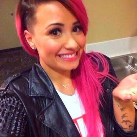 foto de cabelo rosa