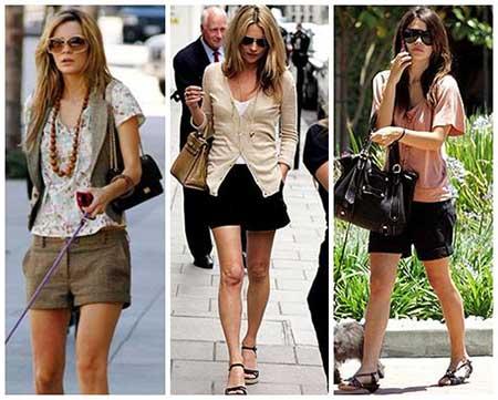 Como usar short social feminino fotos looks modelos looks com short social thecheapjerseys Choice Image