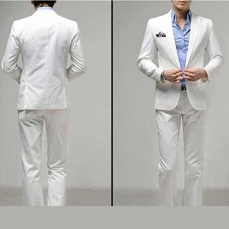look com terno branco