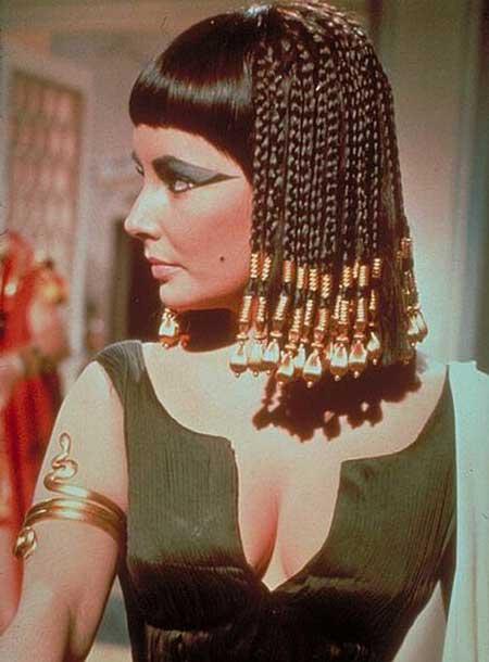 maquiagem de egípcia