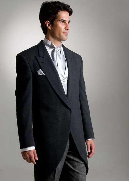 modelo de gravata cinza