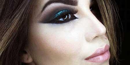 foto de maquiagem de egípcia