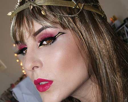 maquiagem egípcia
