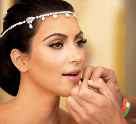 fotos de maquiagem de noiva