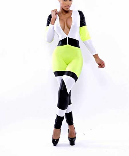 macacão fitness da moda