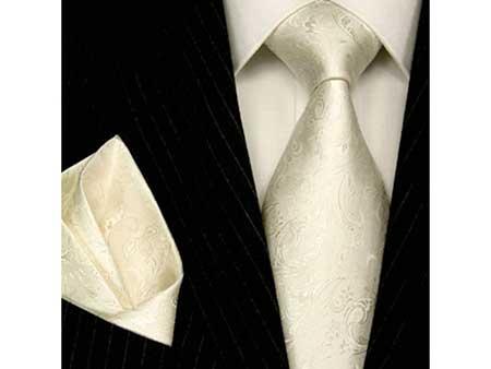 dicas de gravatas brancas