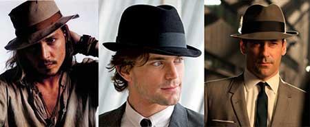 chapéu da moda masculina