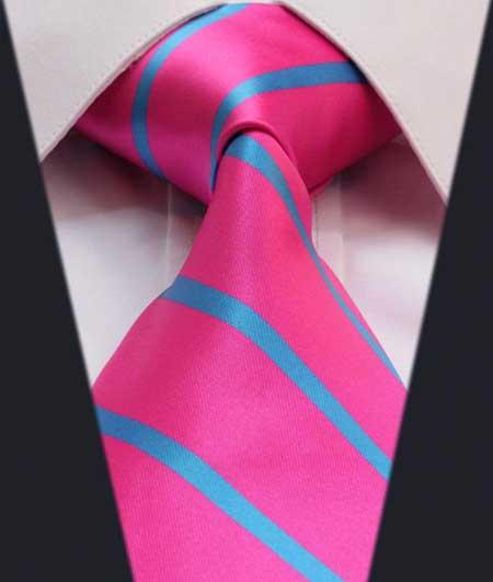 fotos de gravatas rosas