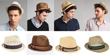 É importante ressaltar que cada tipo de chapéu 76894e837b6