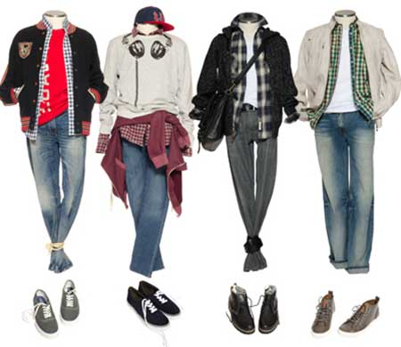 fotos da moda masculina jovem