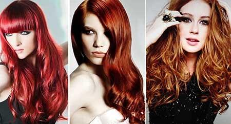 cabelos vermelhos