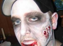 maquiagem de zumbi